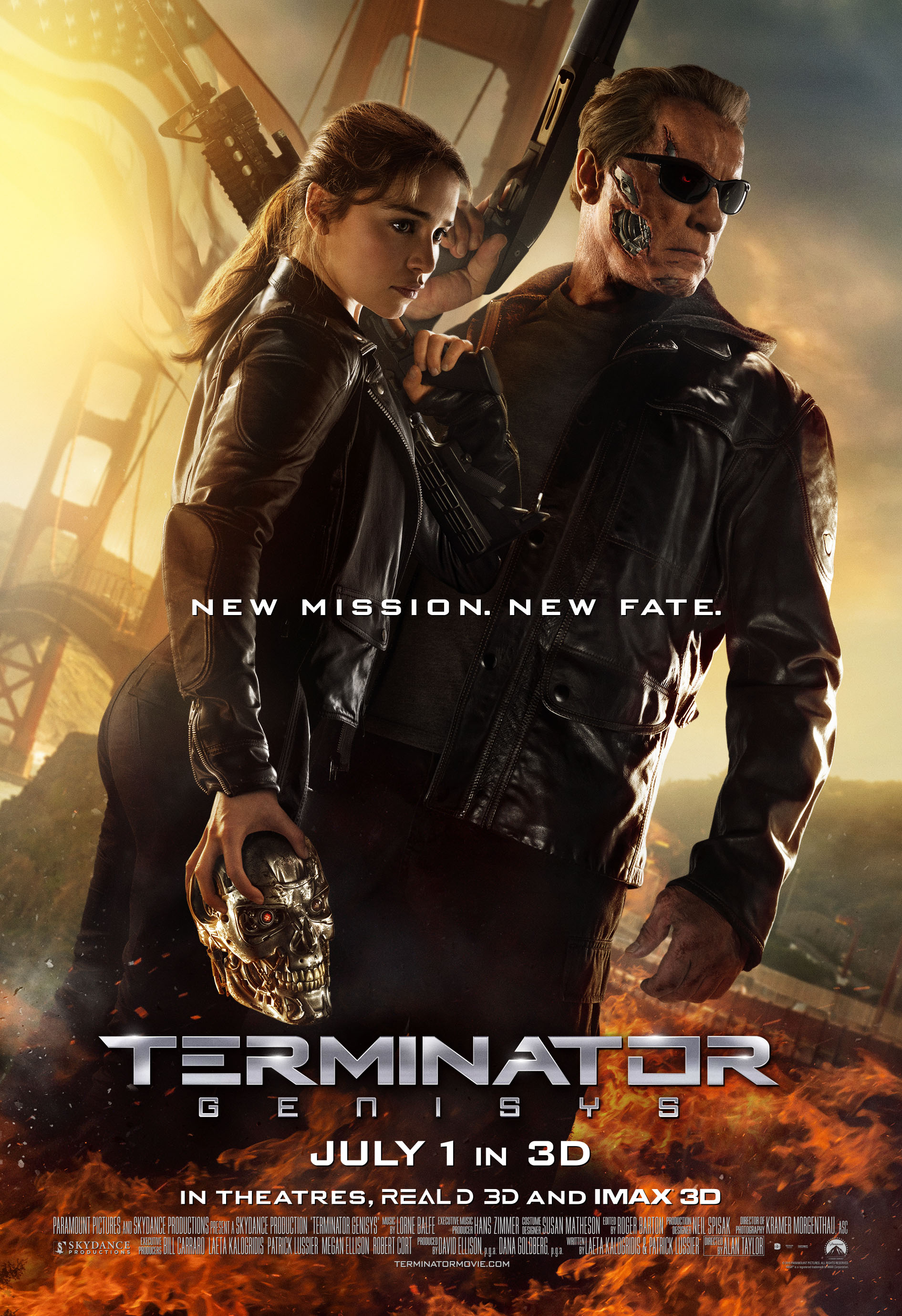 FILM REVIEW – TERMINATOR: GENISYS (2015)