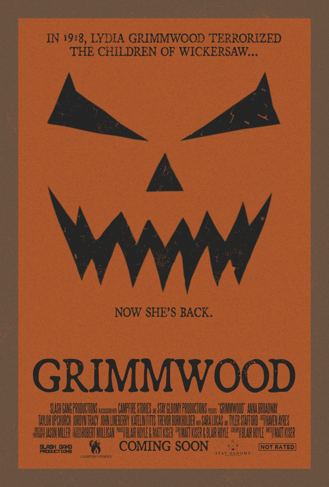 Grimmwood - Official Poster