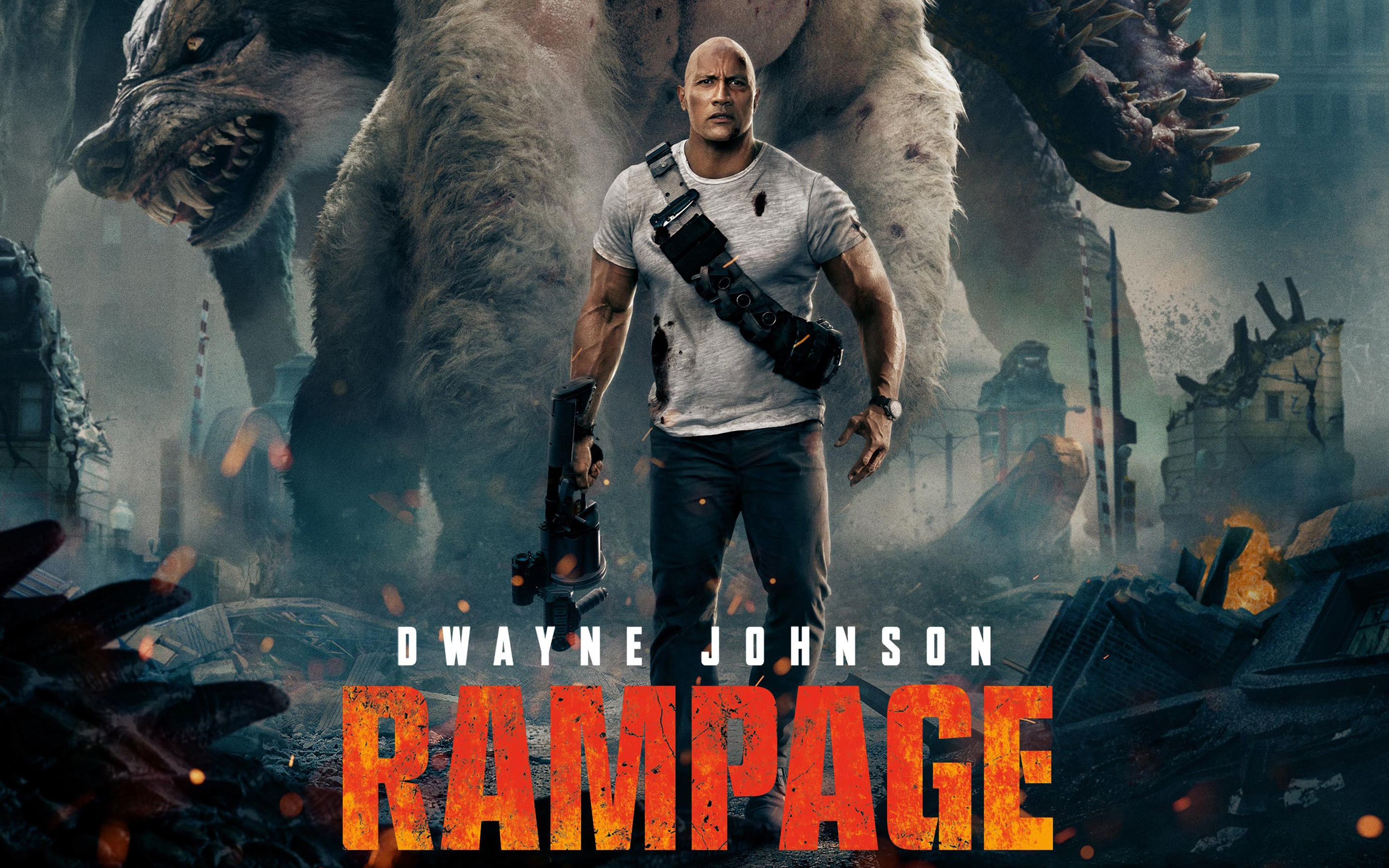 Rampage Movie Hd Wallpapers Download 1080p: FILM REVIEW – 'RAMPAGE' (2018)